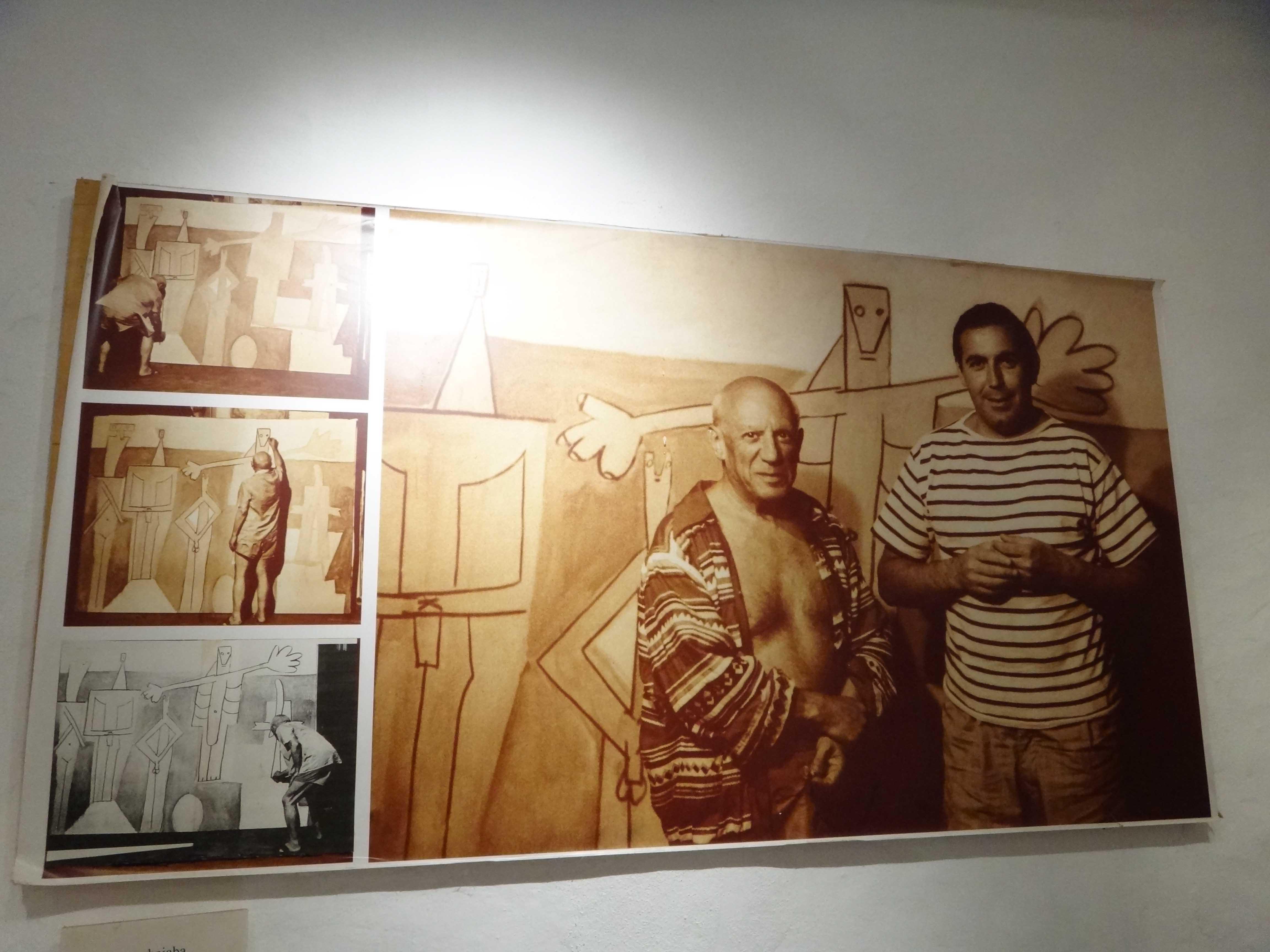 Vilaró e Picasso