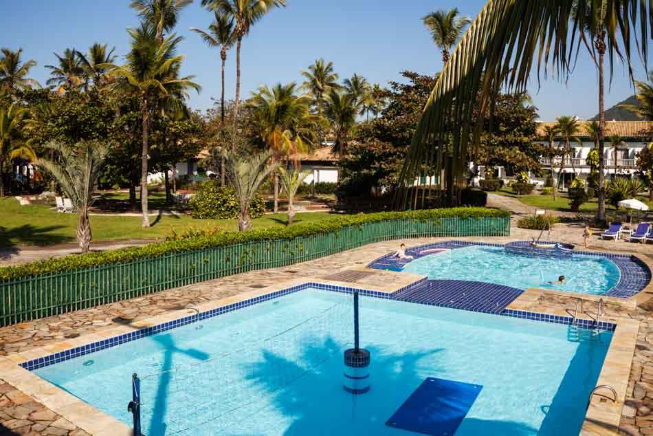 Piscina do Casa Grande Hotel no Guarujá