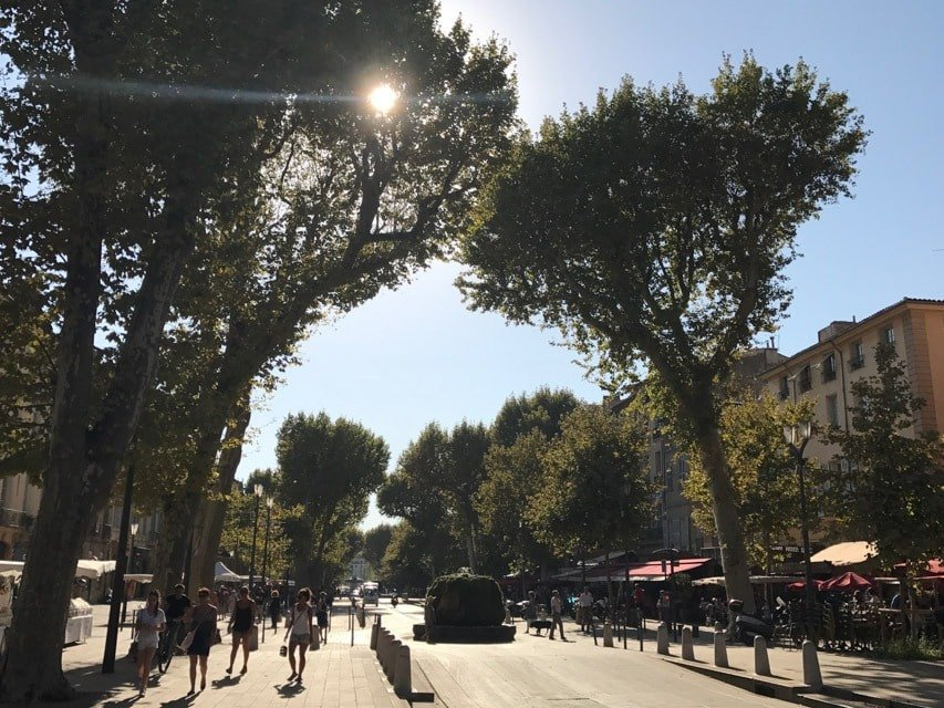 Aix en Provence nossa base para o Roteiro pela Provence