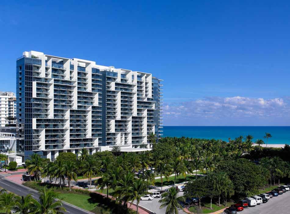 Hotéis em Miami Beach - W