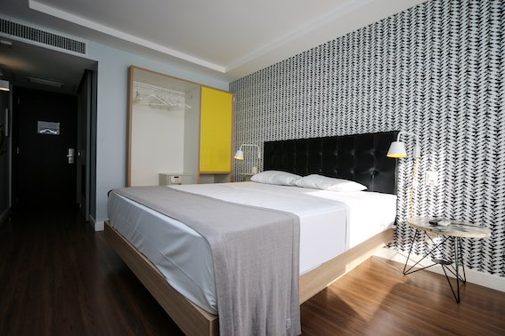 Quarto casal Hotel Selina RJ