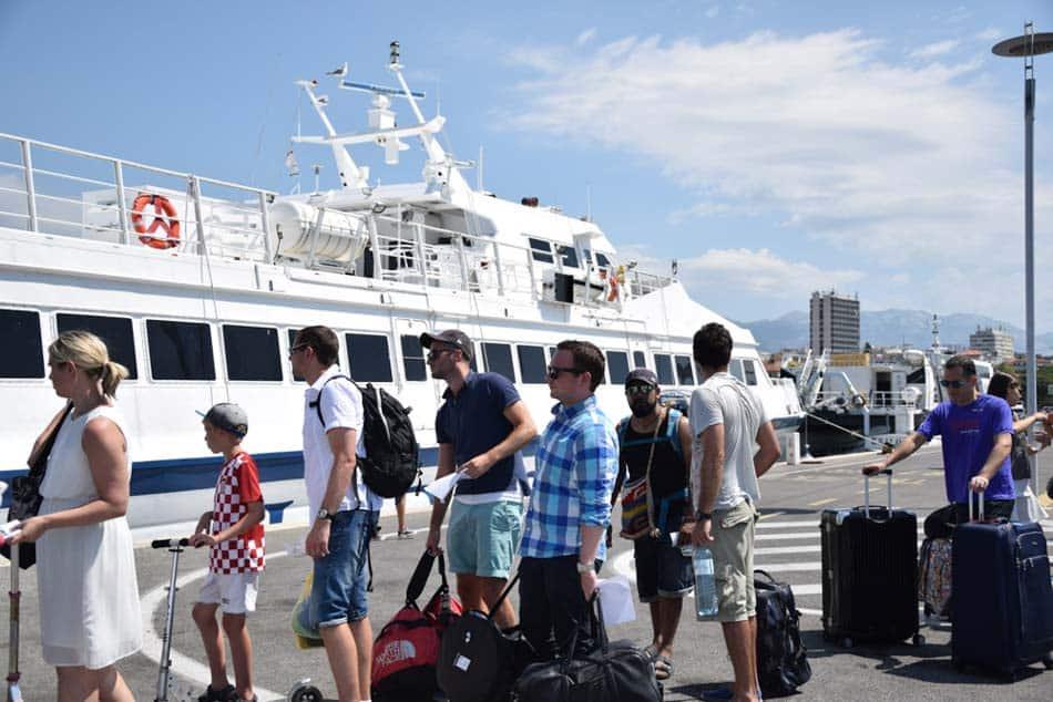 Dicas da Croácia - Split Ferry