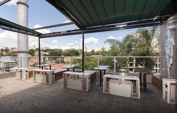 restaurante com vista