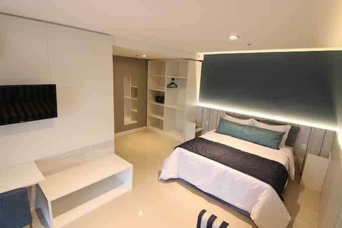 hotel em Cabo Frio quarto