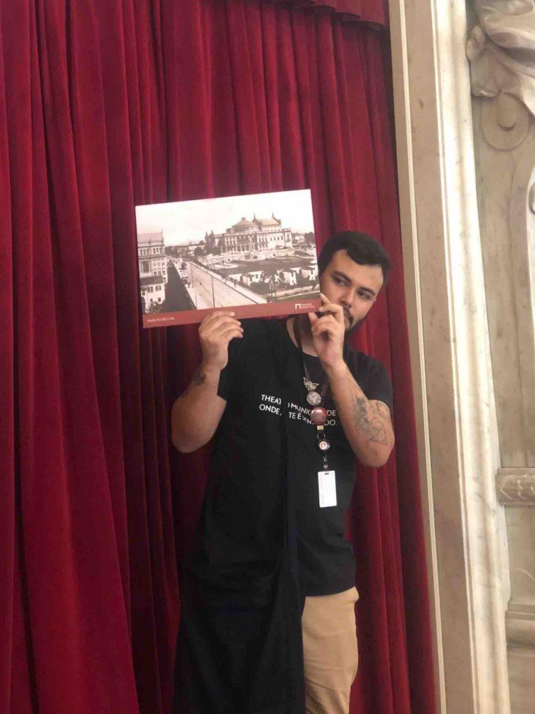 Visita ao Teatro Municipal SP guia
