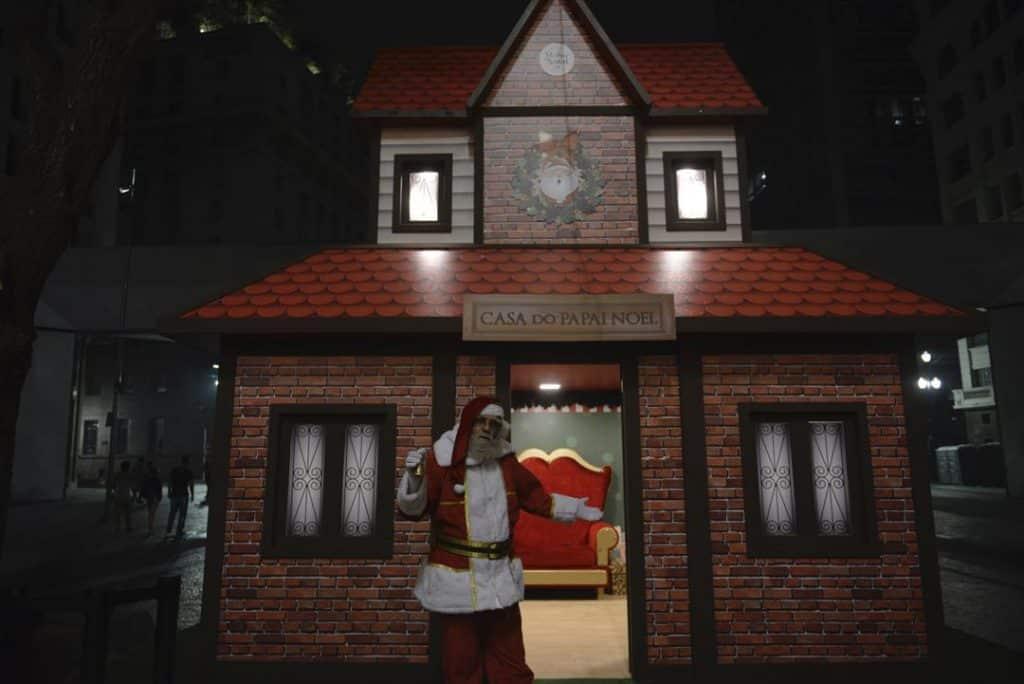 Casa do Papai Noel Agenda kids dezembro