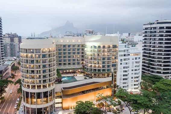 Vista Aerea Fairmont Copacabana