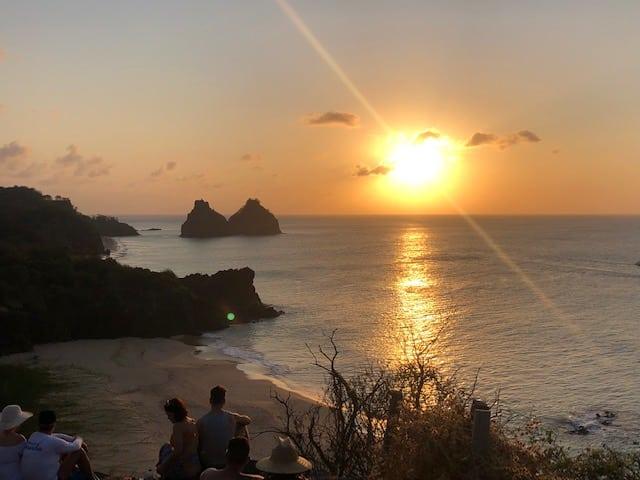 Praias de Fernando de Noronha Fortinho