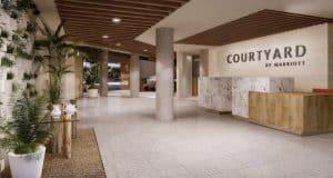 Hotel em Aruba Courtyard 1
