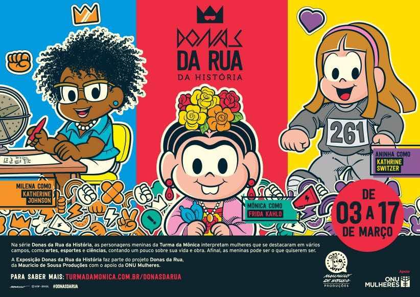 Agenda kids Março Donas da rua