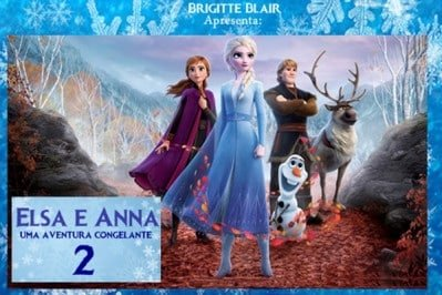 Frozen Agenda Kids Março