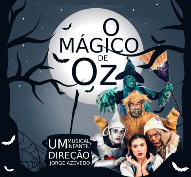 Mágico de Oz - Teatro agenda kids março