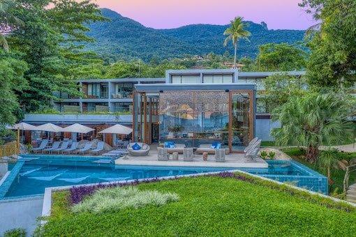 Piscina Resort em Ilhabela