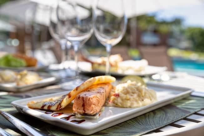 gastronomia resort em Ilhabela