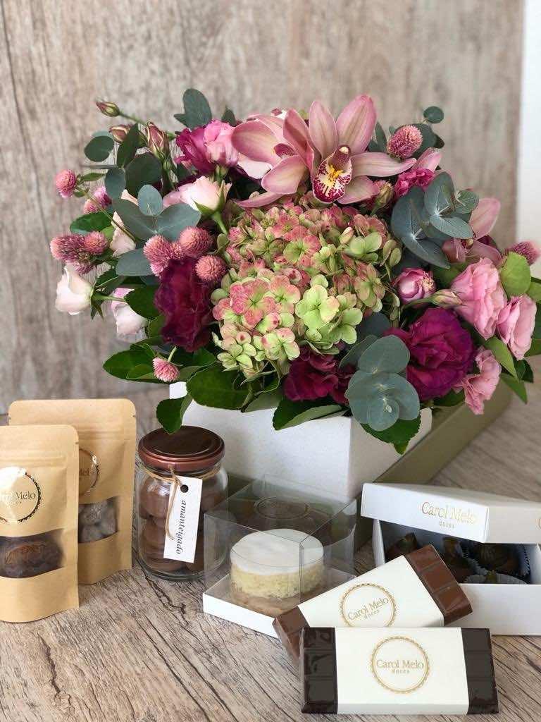Ideias de presentes para o Dia das Maes flores